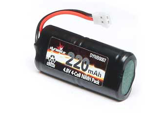 4.8V 220mAh NiMH Battery Pack