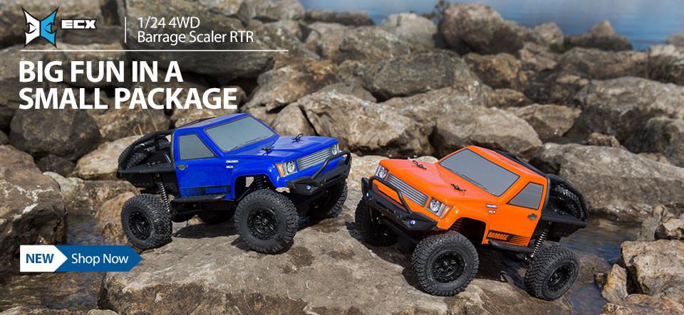 ECX 1/24 4WD Barrage Scaler