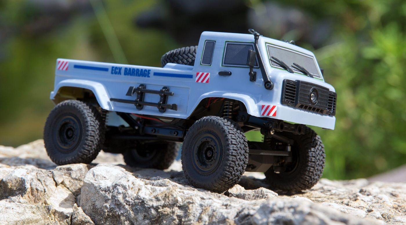 Image for 1/24 Barrage UV 4WD Scaler Crawler RTR FPV, Gray from HorizonHobby