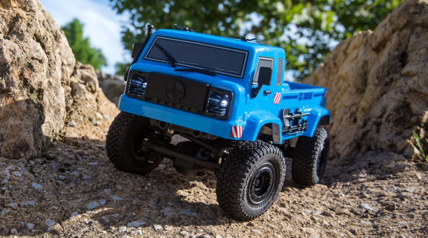 Grafik für 1/24 Barrage UV 4WD Scaler Crawler RTR, Blue in Horizon Hobby
