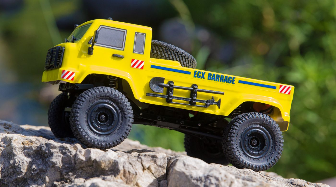 Image for 1/24 Barrage UV 4WD Scaler Crawler RTR, Yellow from HorizonHobby