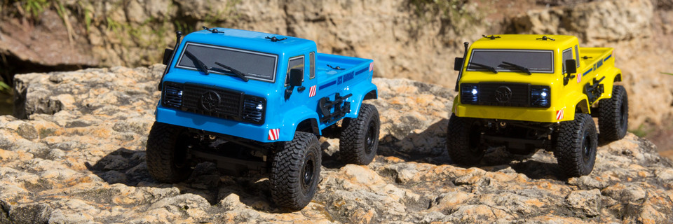 1/24 Barrage UV 4WD Scaler Crawler RTR FPV