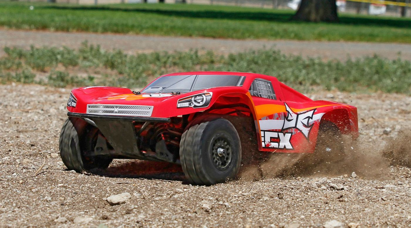 Image pour Torment 1/18th 4WD Short Course Truck Rouge/Orange RTR INT à partir de Horizon Hobby