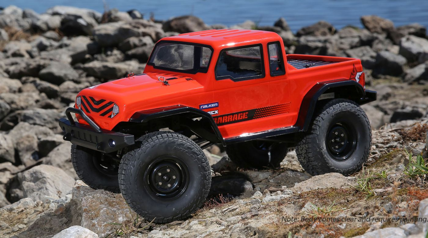 Image for 1/12 Barrage Gen2 4WD 1.9 Scaler Brushed BTD Kit from HorizonHobby