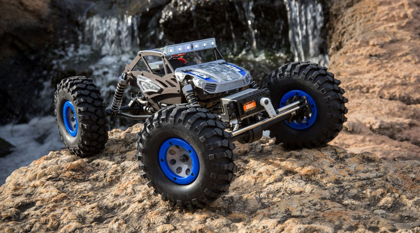 Image for 1/18 Temper 4WD Gen 2 Brushed RTR, Blue from HorizonHobby