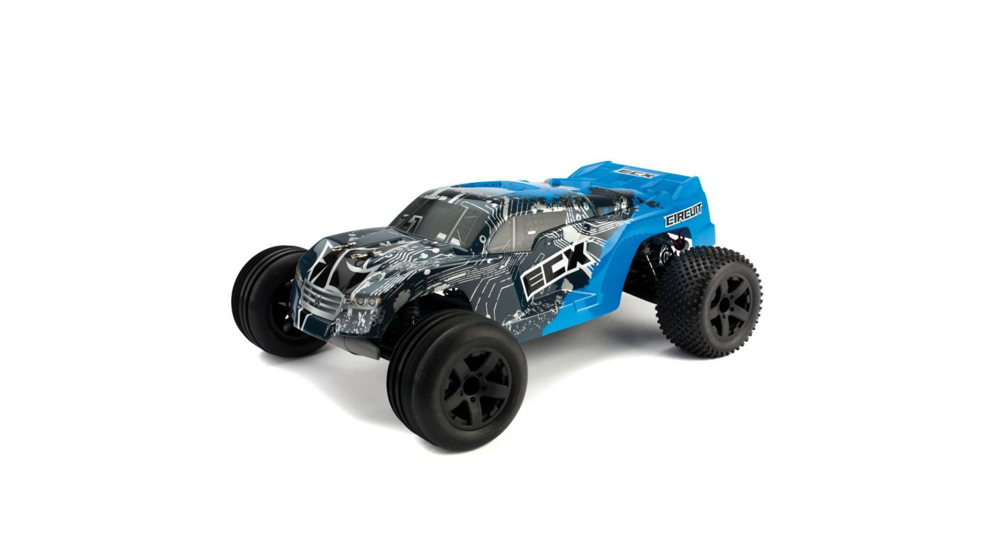 Image for 1/10 Circuit 2WD Stadium Truck RTR, Blue/Silver from HorizonHobby