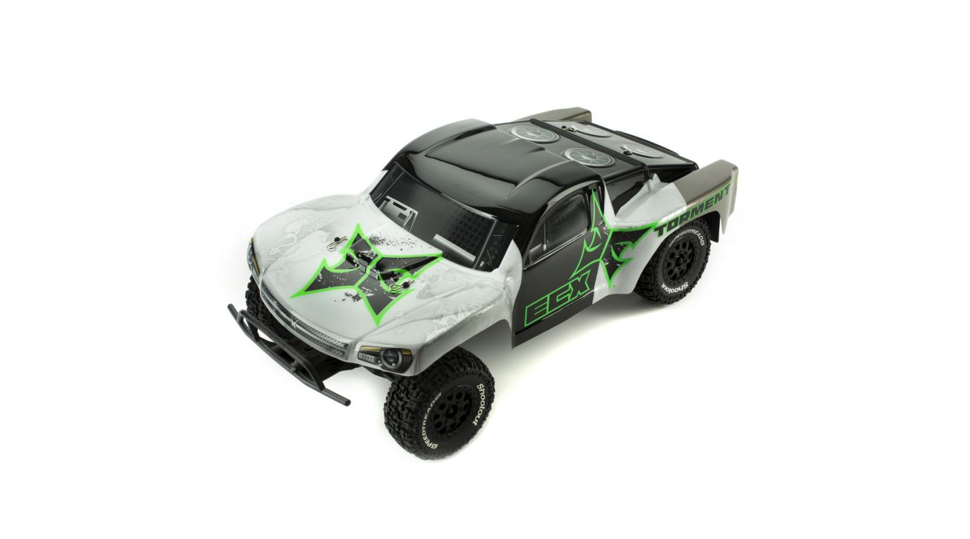 Image for 1/10 Torment 2WD SCT RTR, Black/Green from HorizonHobby