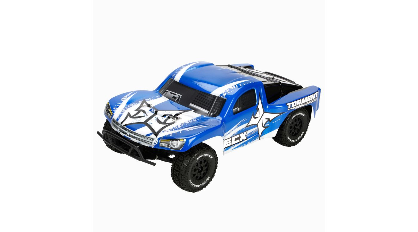 Image for 1/10 Torment 2WD Brushless SCT RTR, Blue/White from HorizonHobby