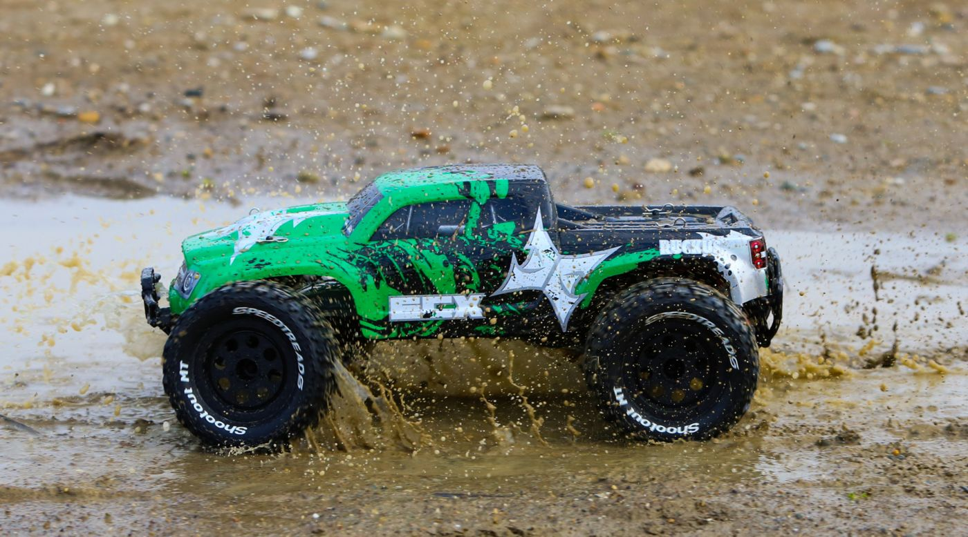 Image for 1/10 Ruckus 2WD Monster Truck RTR, Green/Black from HorizonHobby