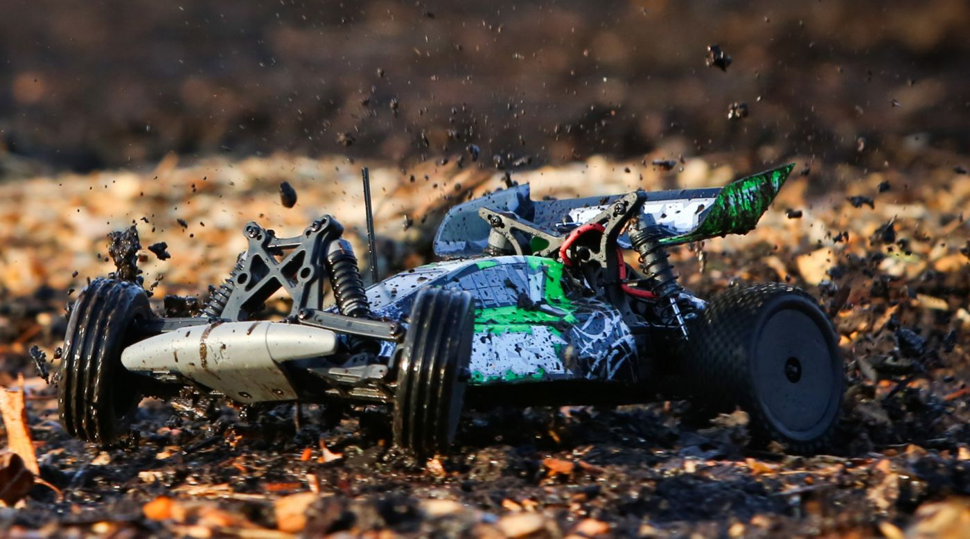 Image for 1/10 Boost 2WD Buggy RTR, Black/Green from HorizonHobby