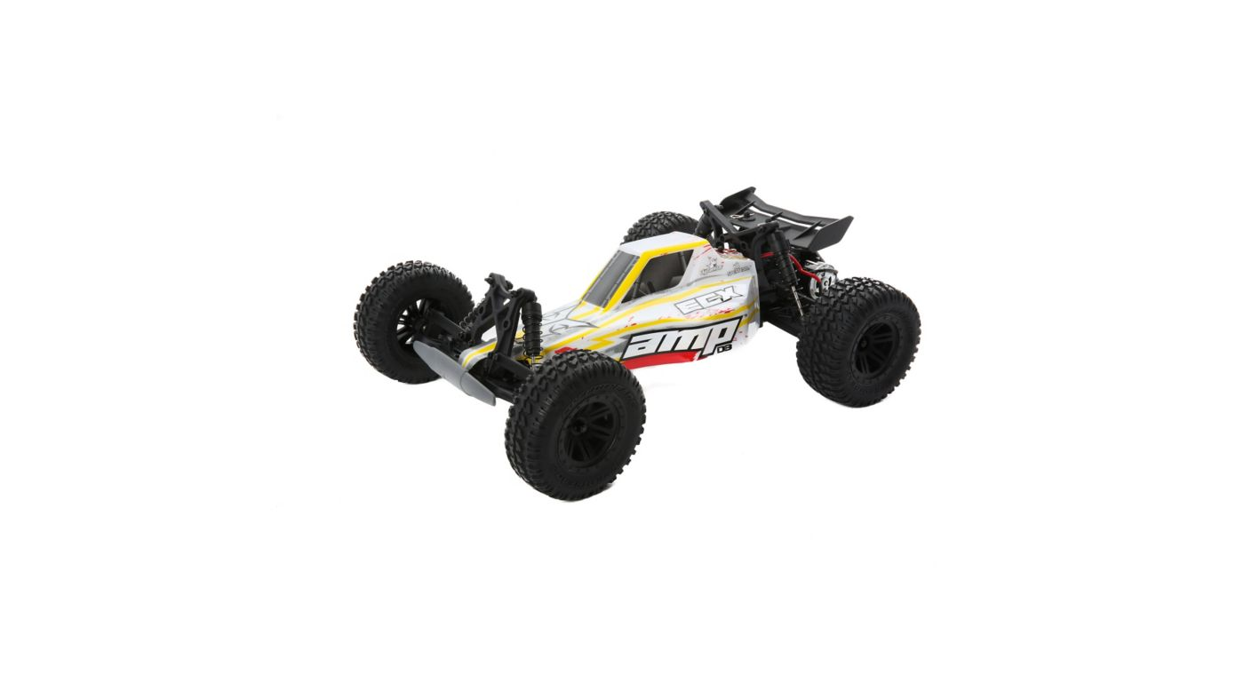 Image for 1/10 AMP DB 2WD Desert Buggy Brushed RTR, White/Red from HorizonHobby