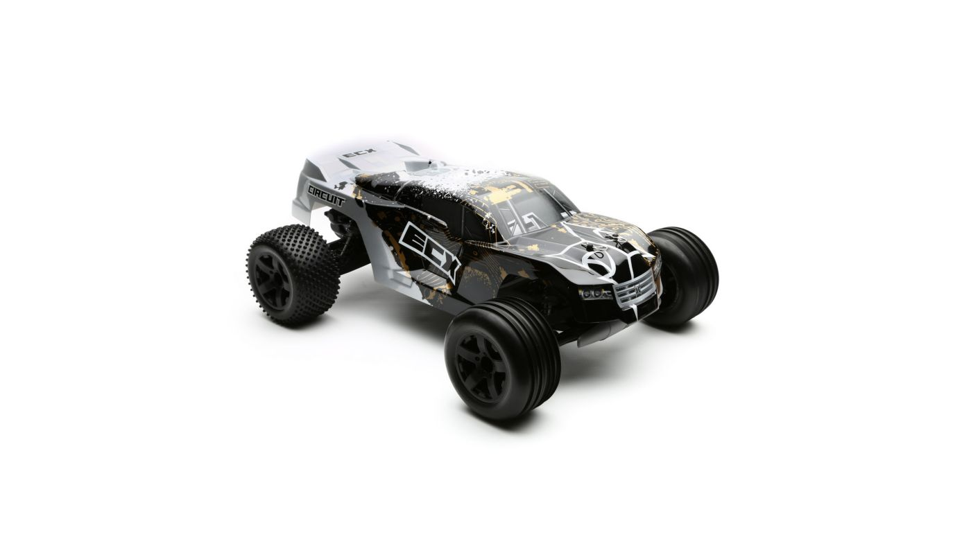 Image for 1/10 Circuit 2WD Stadium Truck RTR, Black/Silver from HorizonHobby