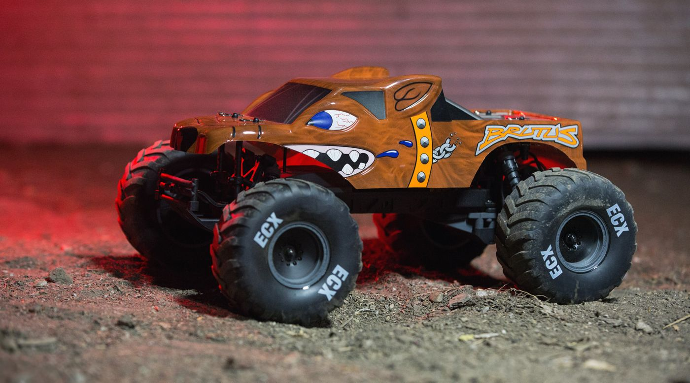 Image for 1/10 Brutus 2WD Monster Truck Brushed RTR from HorizonHobby