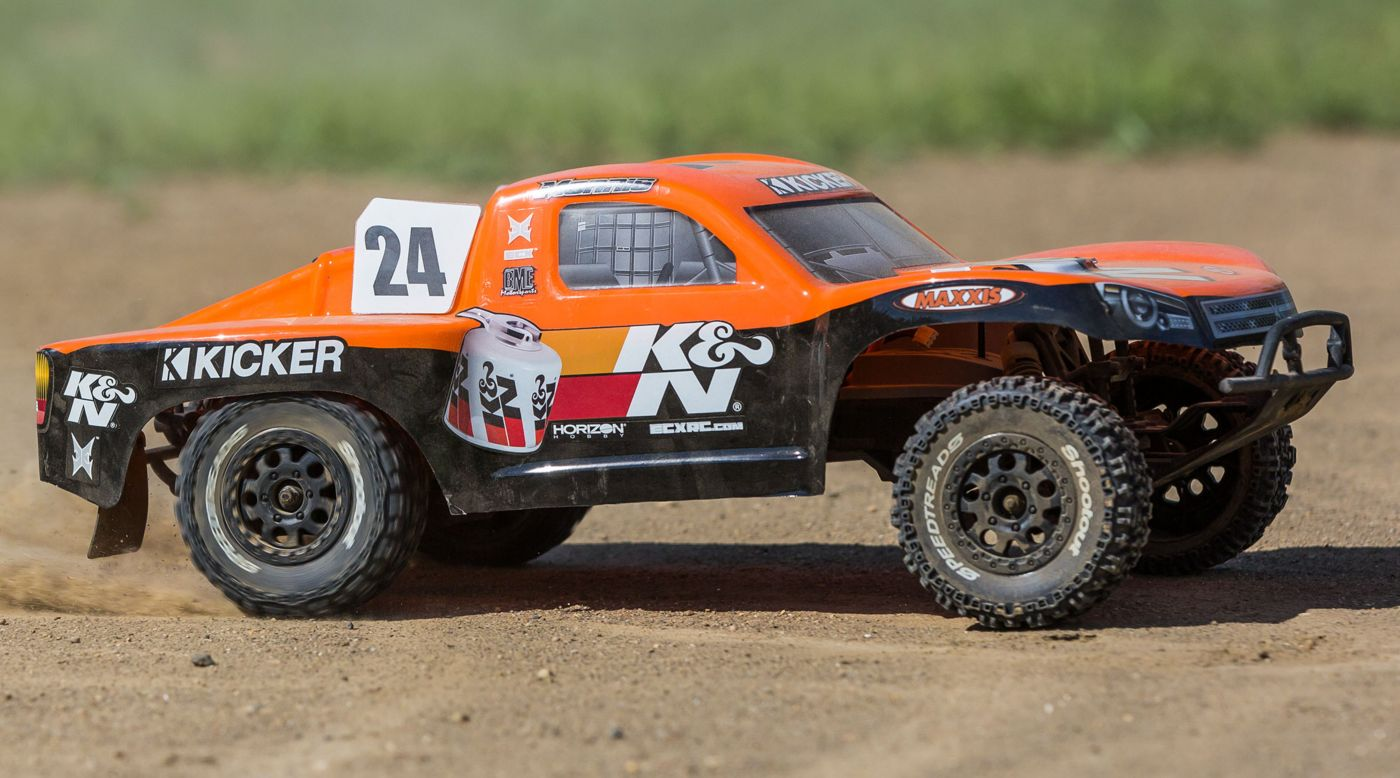 Image for 1/10 K&N Torment 2WD SCT Brushed with LiPo RTR, Orange from HorizonHobby
