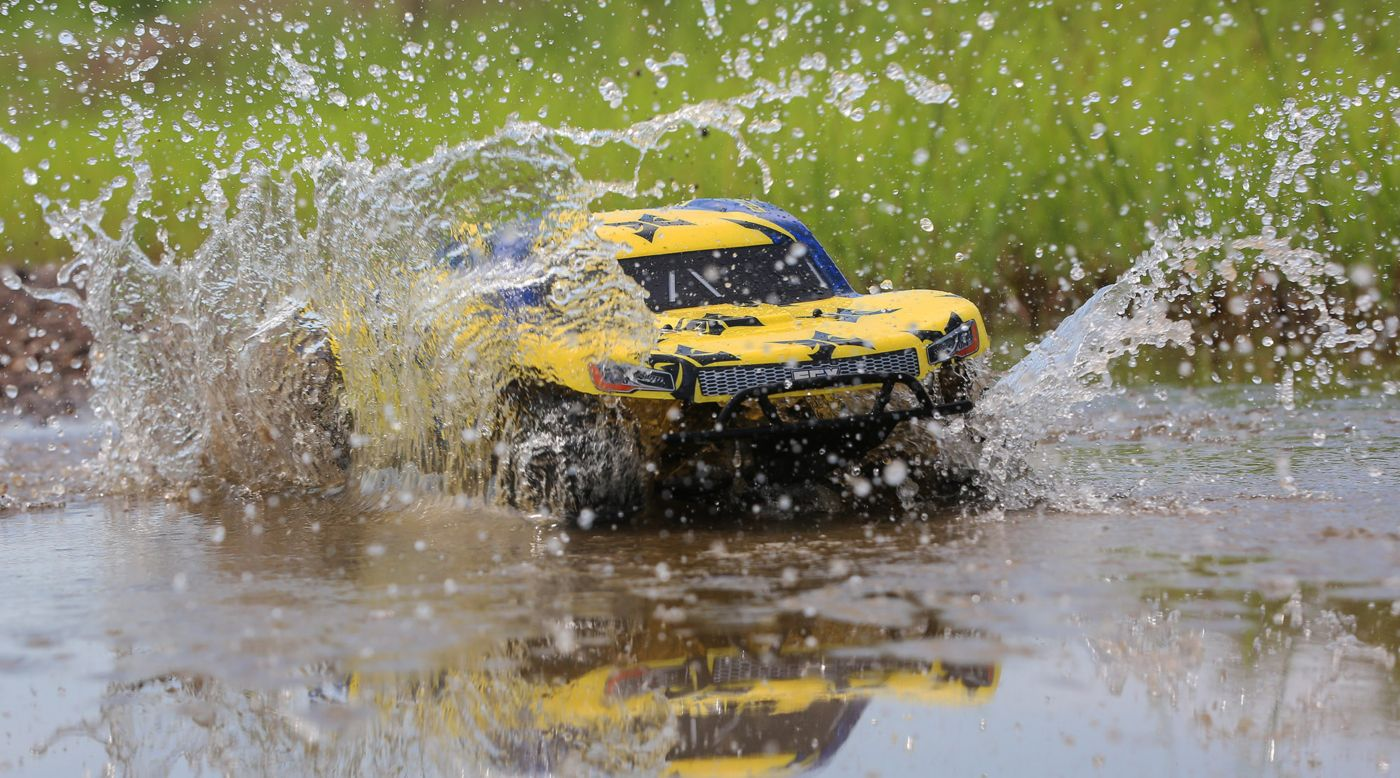 Image for 1/10 Torment 2WD SCT Brushed RTR, Yellow/Blue from HorizonHobby