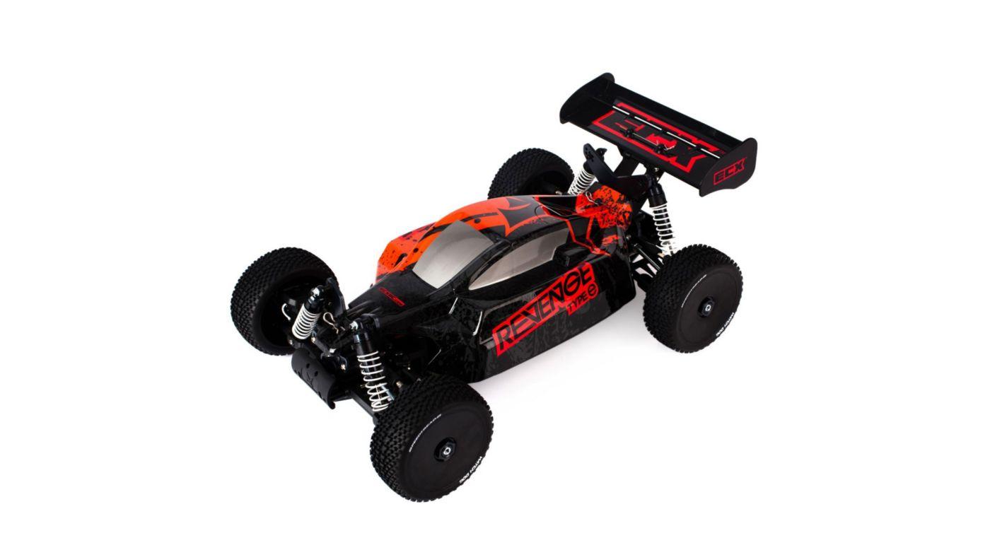 Image for 1/8 Revenge Type e™ 4WD Brushless Buggy RTR, Red/Black from HorizonHobby