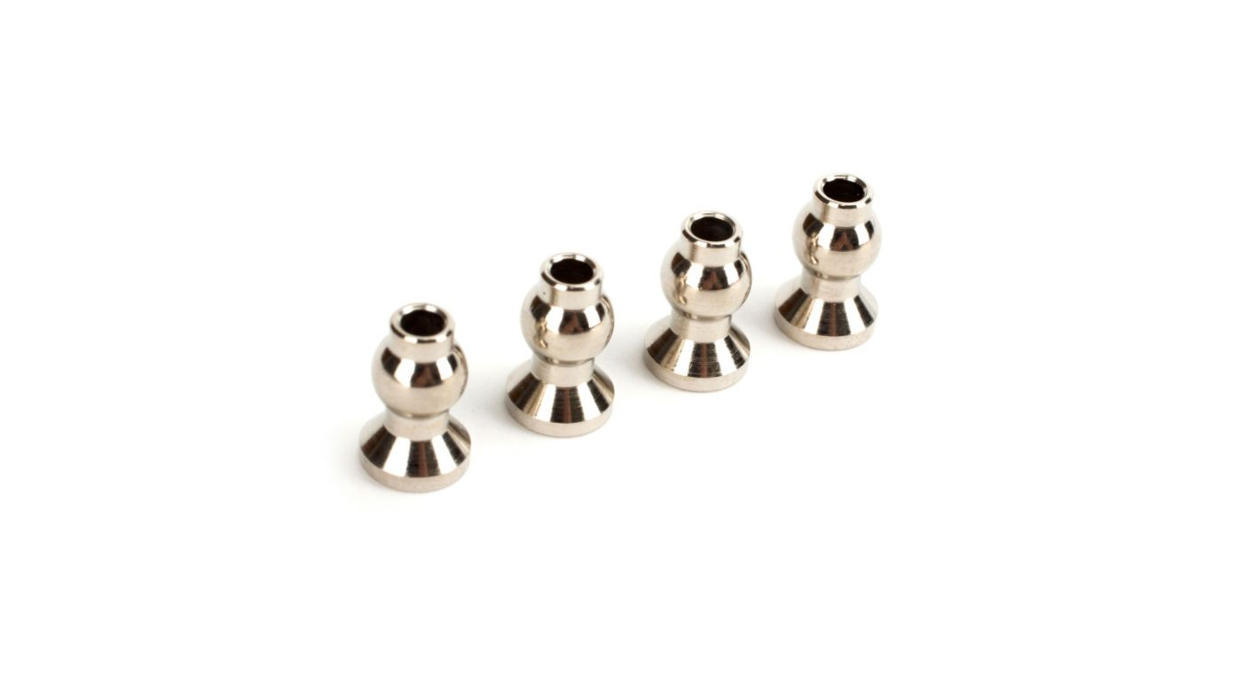 Image for Tie Rod Pivot Ball Set (4): Revenge Type E/N from HorizonHobby