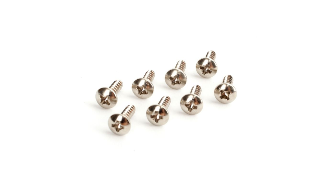 Image for 3X10mm Tapping Screws (8) from HorizonHobby