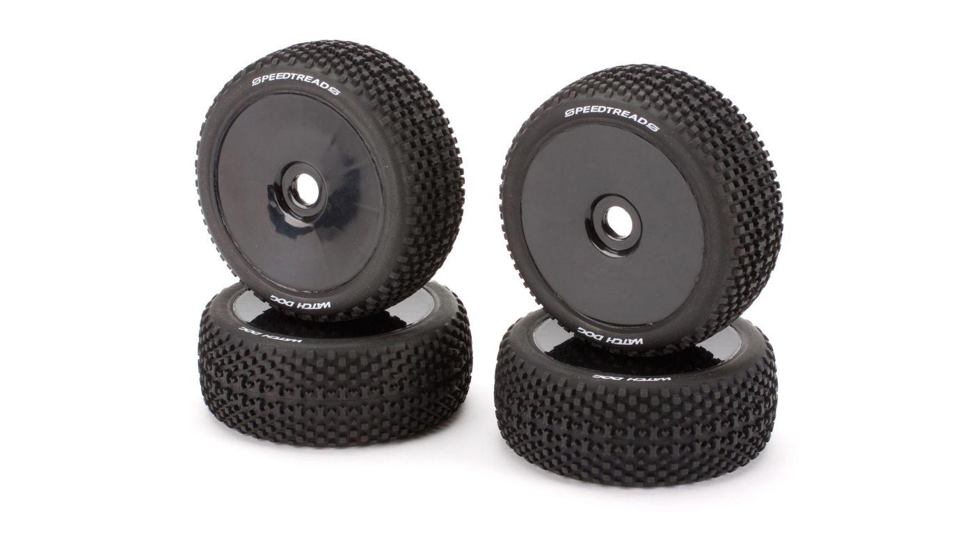 Image for Mounted Wheel/Tire Set (4): Revenge Type E/N from HorizonHobby