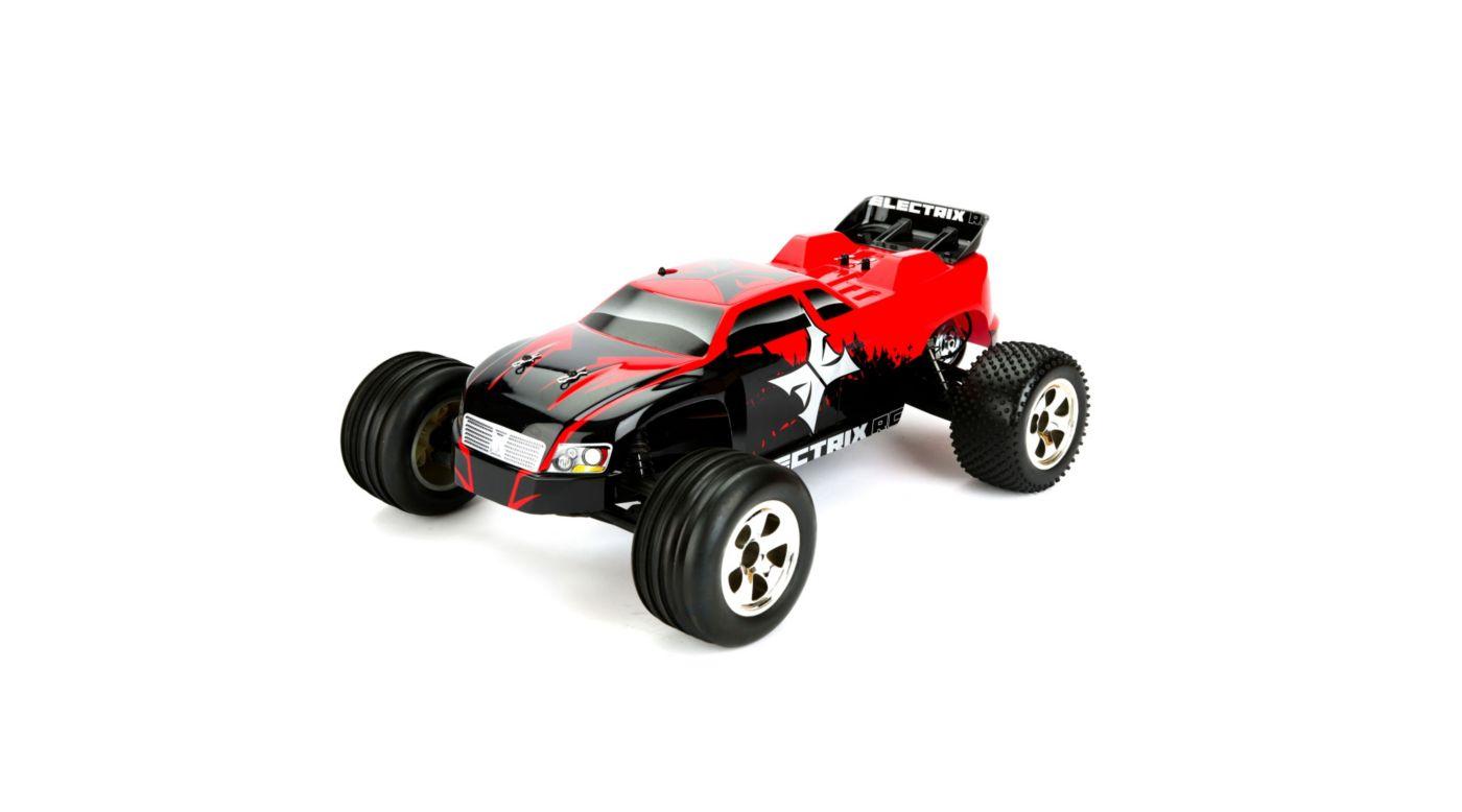 Electrix Rc Circuit 1 10 Stadium Truck Red Ecx1000s 605482066638