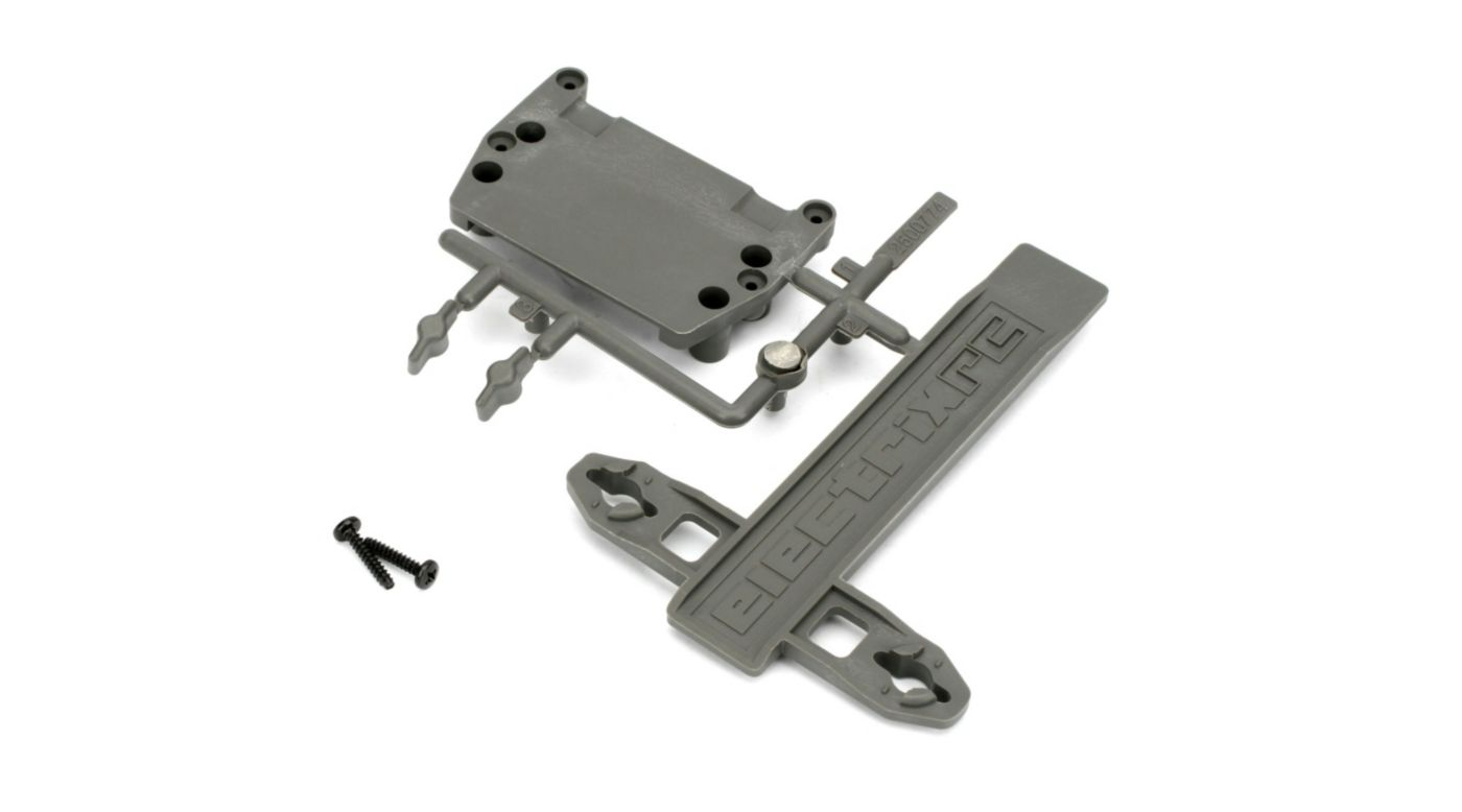 Image for Battery Strap, ESC Plate: 1/10 2WD Circuit, Boost from HorizonHobby