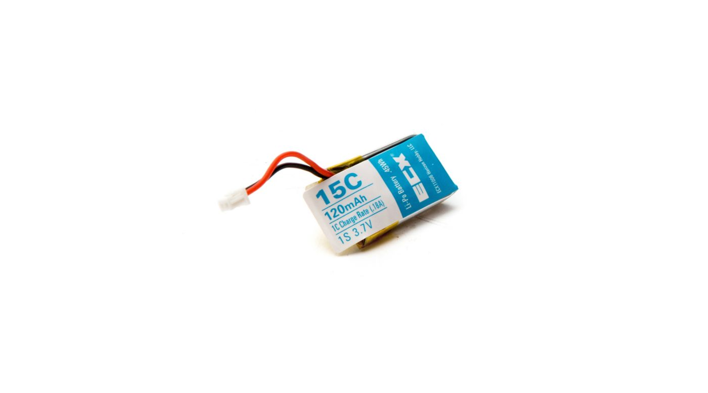 Image for 120mAh 1S 3.7V Battery: 1/14 Outburst from HorizonHobby
