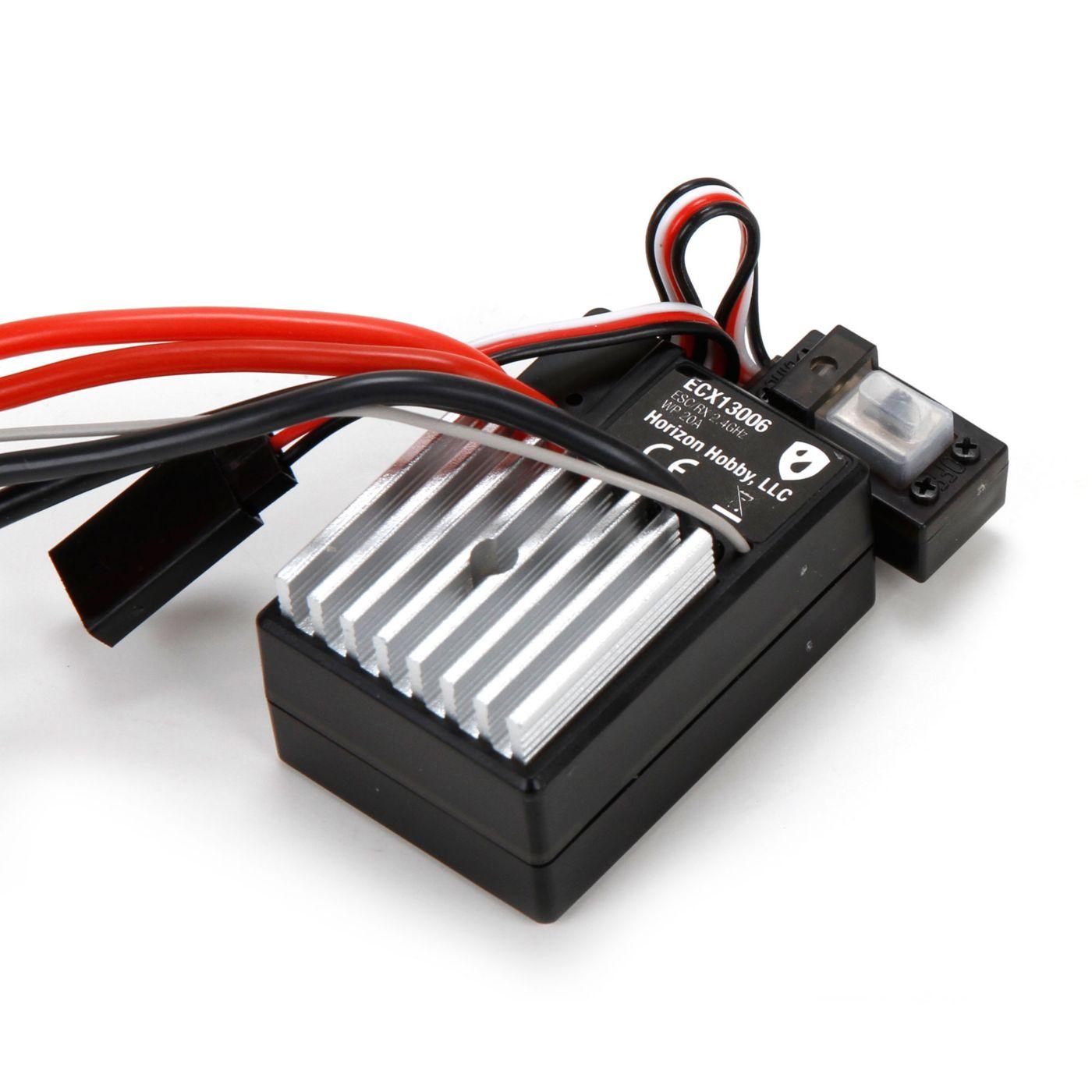 2.4GHz ESC/Receiver, WP, V3: 1/10  (ECX13006)