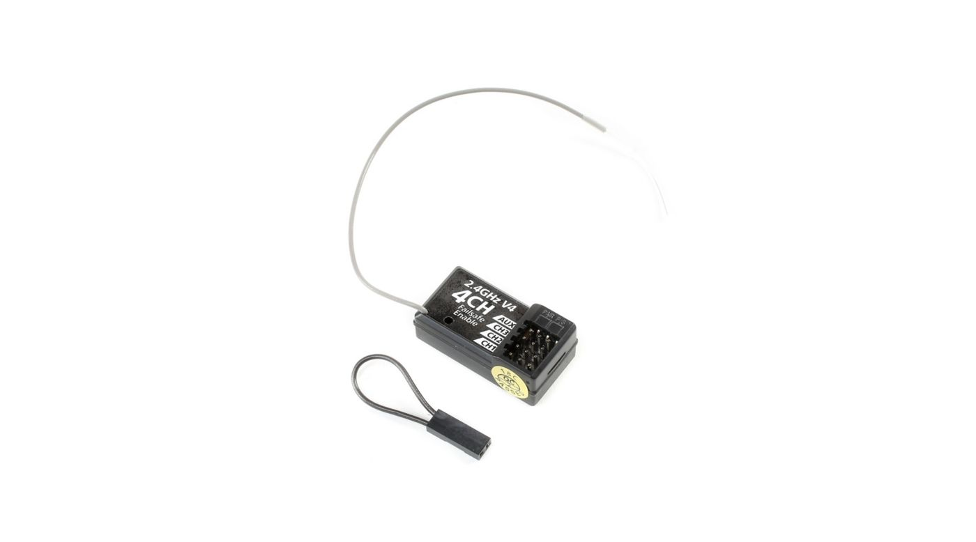 Image for 2.4GHz Receiver WP 4-Channel V4 from HorizonHobby