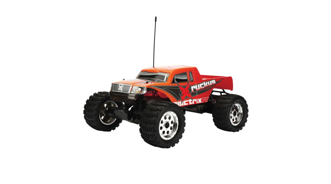 Image for Ruckus 1/10 Monster Truck RTR, Orange from HorizonHobby