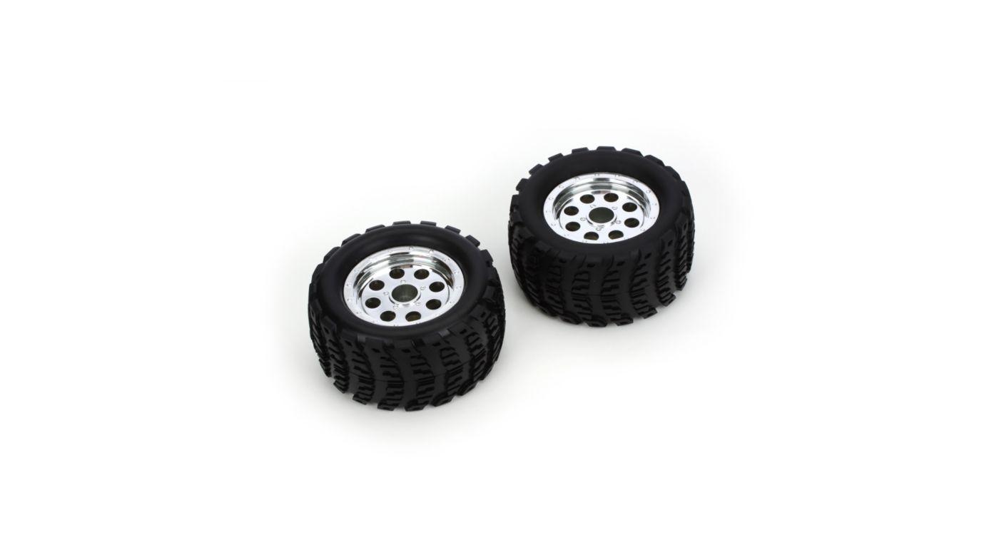 Image for MTD Wheel/Tire (2): Ruckus from HorizonHobby