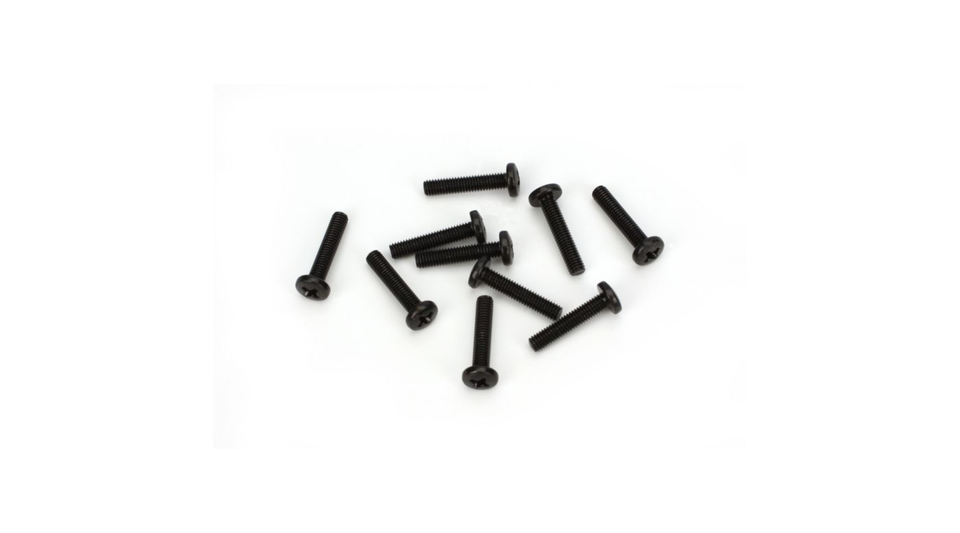 Image for 3x16mm Button Head Screw (10) from HorizonHobby