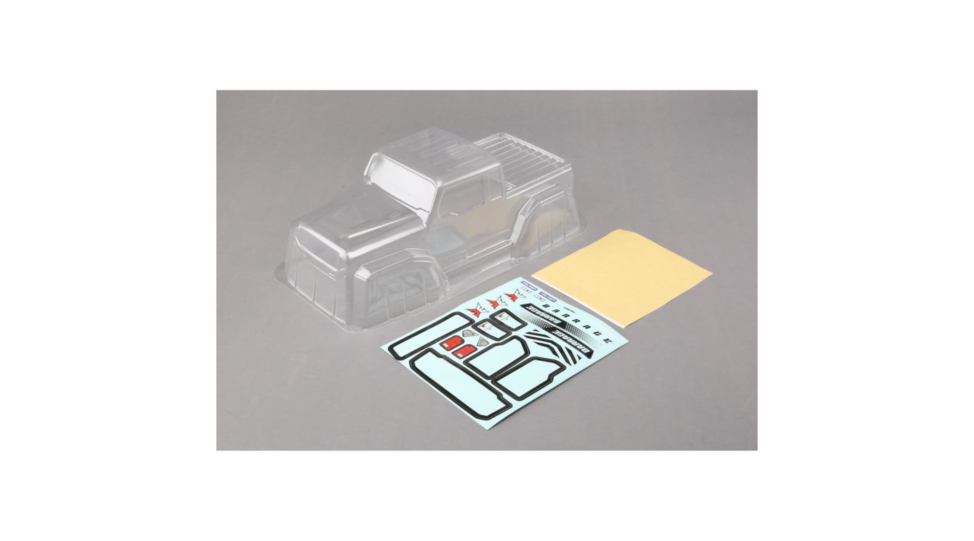 Image for 1/10 Clear Body Set: 1.9 Barrage Kit/RTR, Barrage 2.0 from HorizonHobby