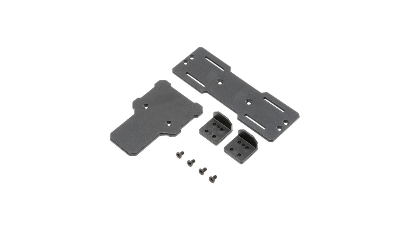 Image for ESC and Battery Tray: 1.9 Barrage Kit/RTR, Doomsday,  Barrage 2.0 from HorizonHobby