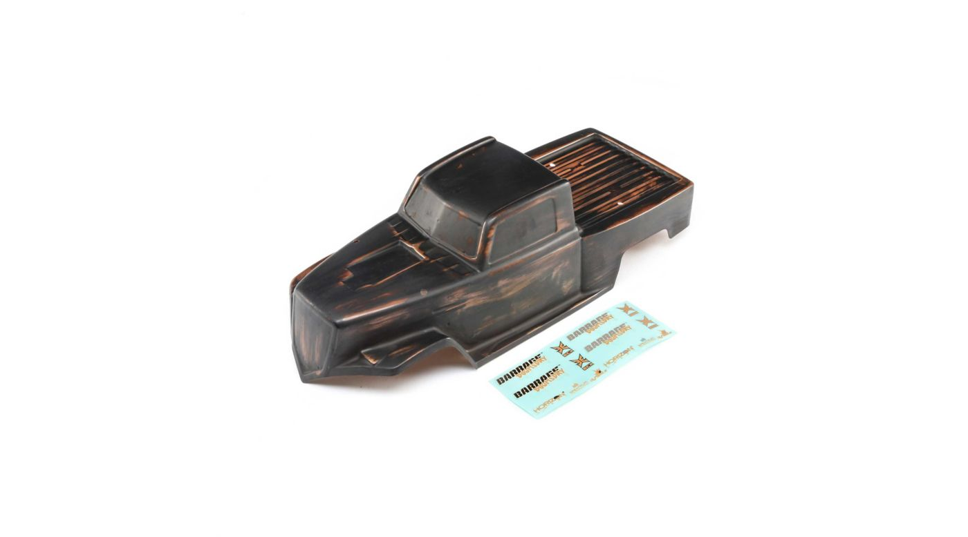 Image for Body, Black/Copper, Precut: Doomsday from HorizonHobby