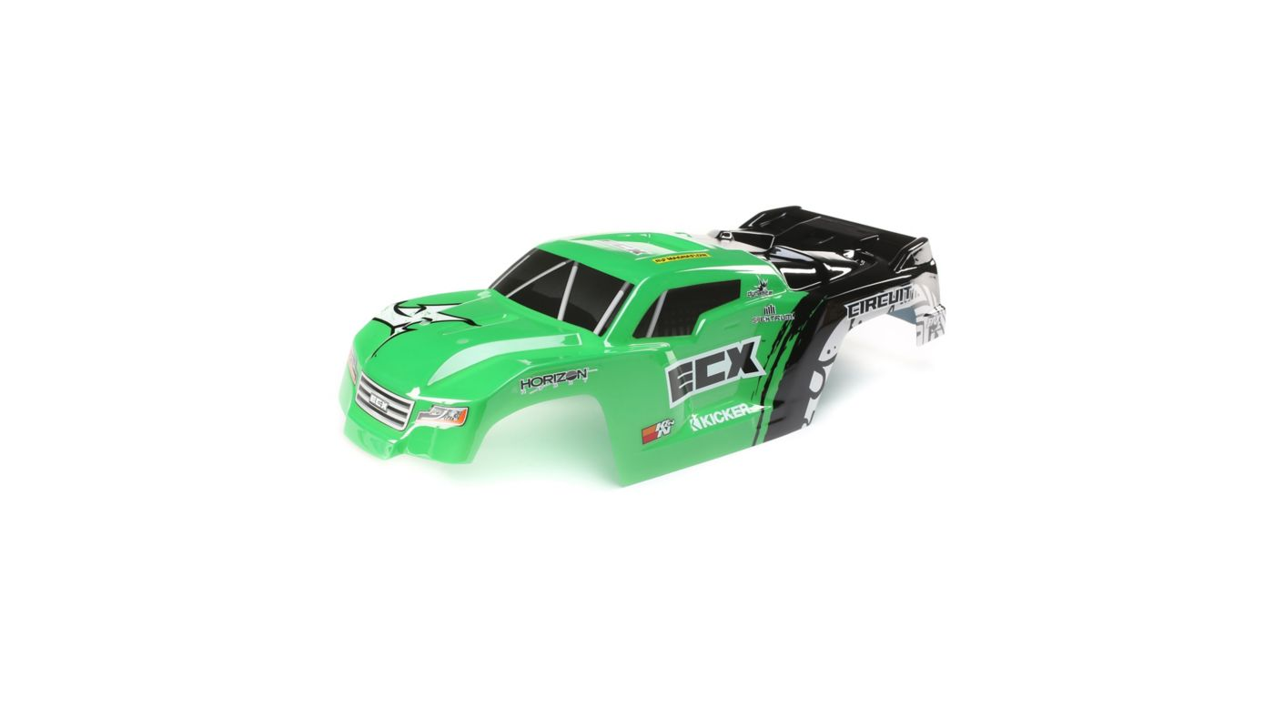 Image for Body, Green: 1/10 2WD Circuit from HorizonHobby