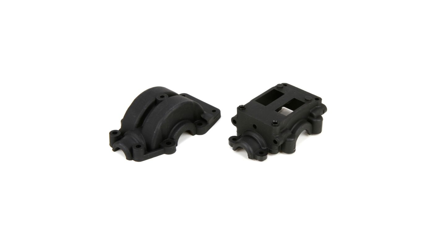 Image for Front/Rear Differential Gearbox Set: 1/10 4WD All from HorizonHobby
