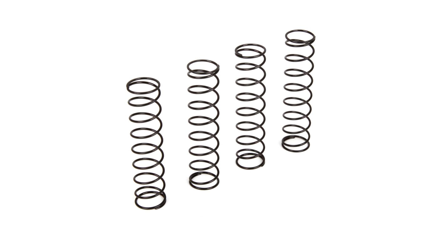 Image for Shock Spring, Black, Set (4): 1/10 4WD All from HorizonHobby