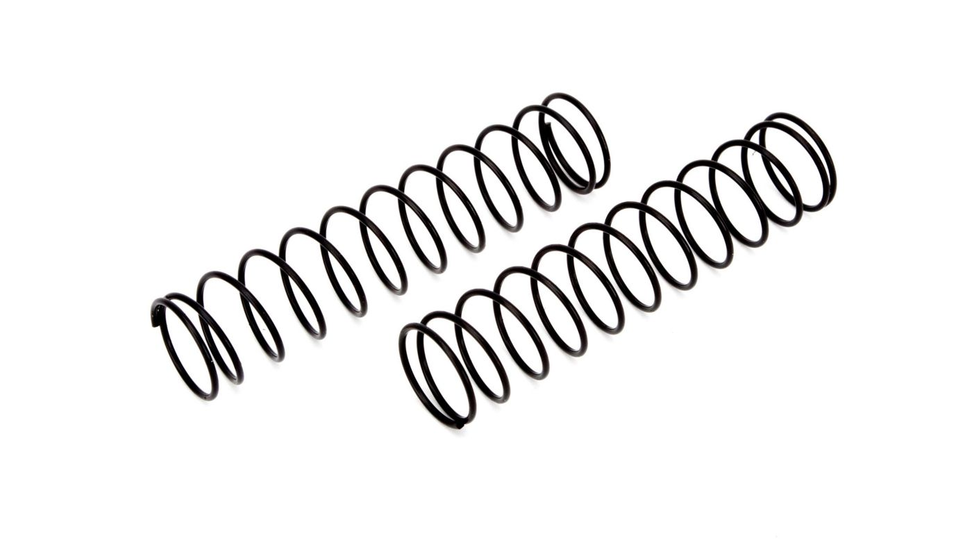 Image for Rear Spring Black Medium (2): 1/10 2WD Boost from HorizonHobby