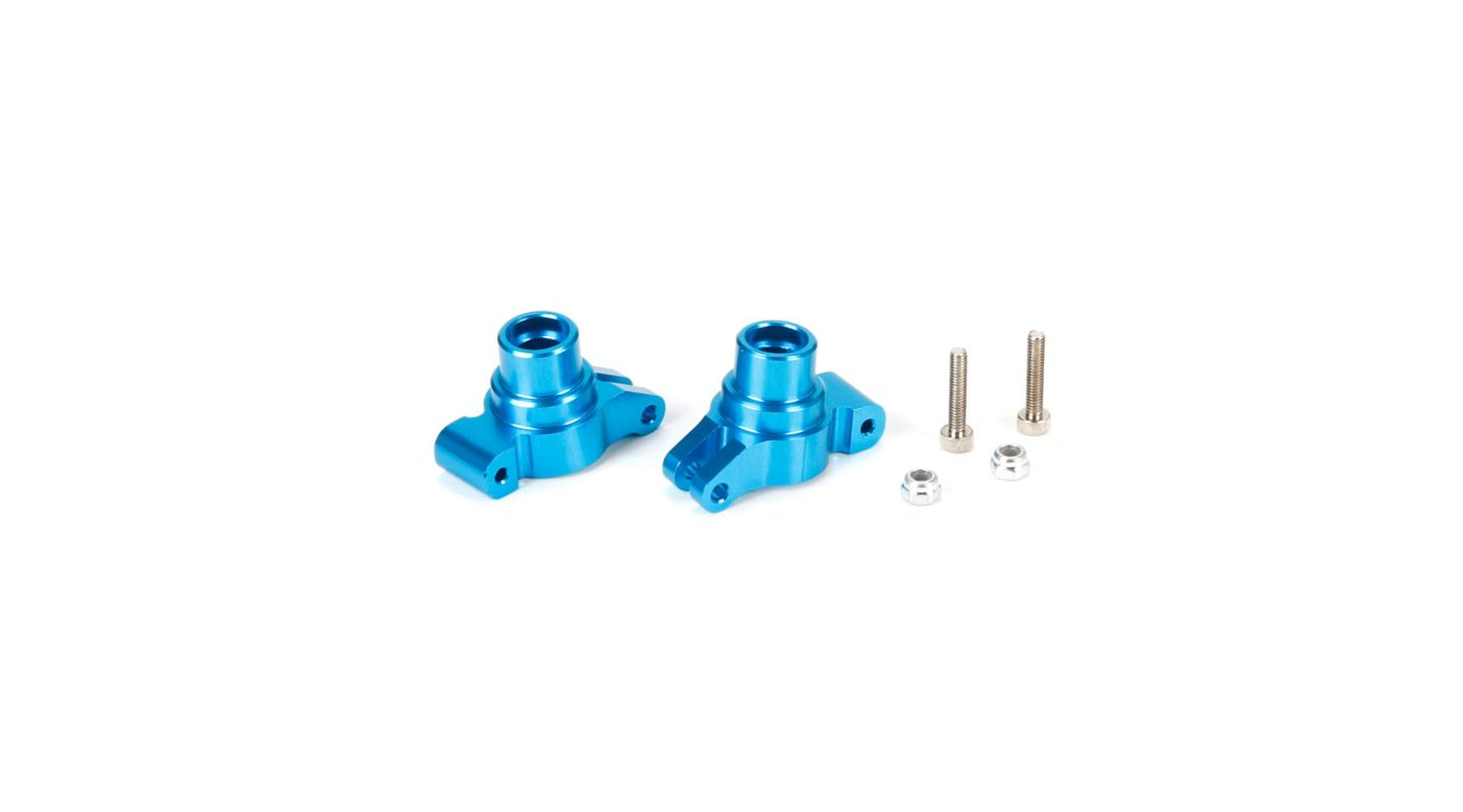 Image for Hub Set, Rear, Aluminum: 1/18 4WD ECX from HorizonHobby