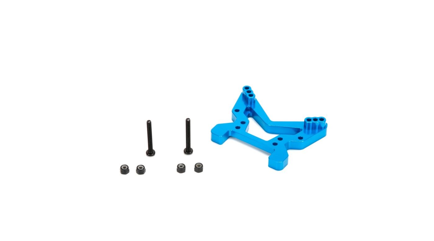 Image for Front Shock Tower, Aluminum: All ECX 1/10 4WD from HorizonHobby