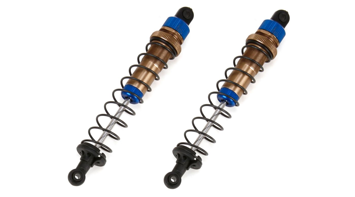 Image for Front/Rear Aluminum Shocks, Complete (2): All ECX 1/10 4WD from HorizonHobby