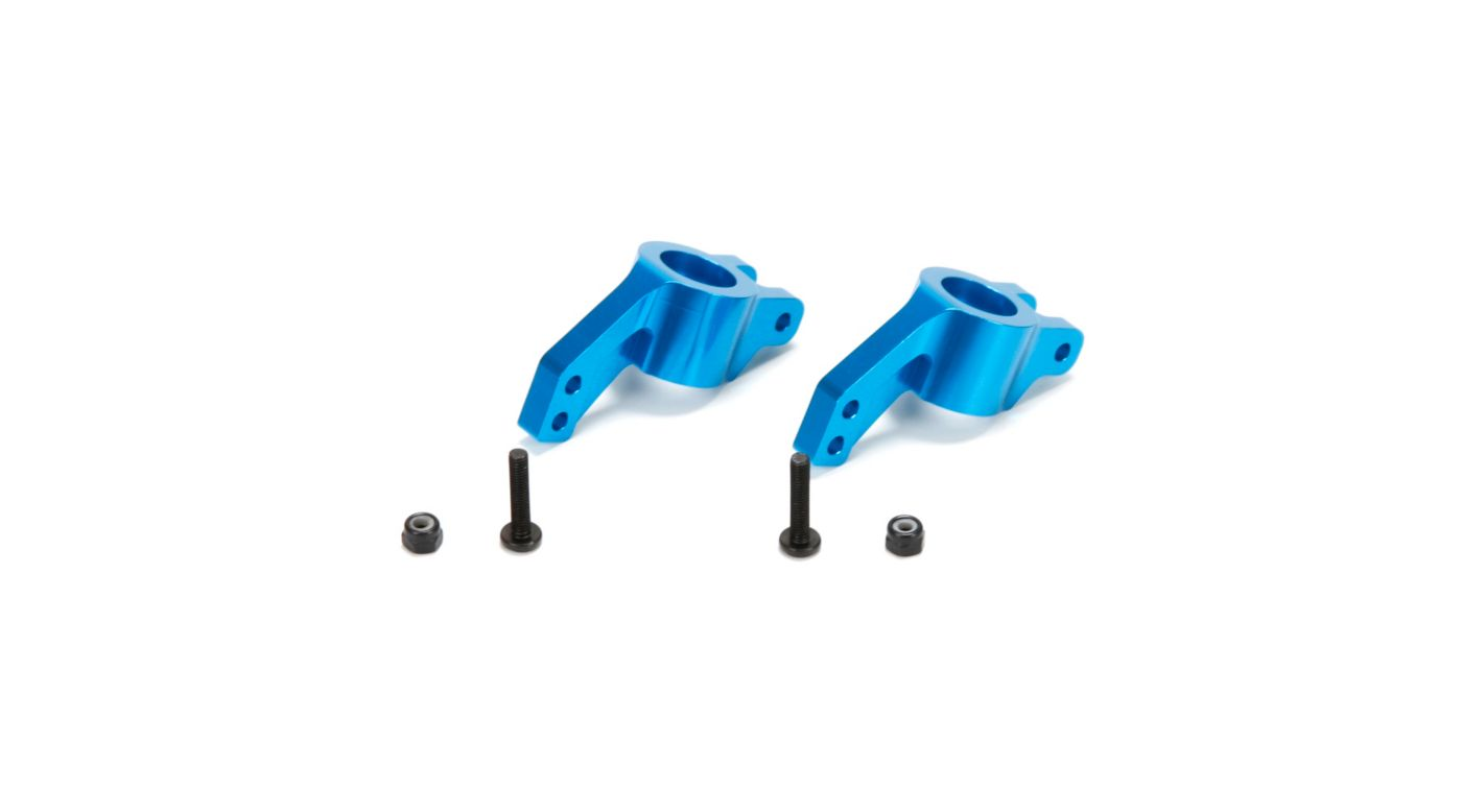 Image for Rear Hubs, Aluminum: All ECX 1/10 4WD from HorizonHobby