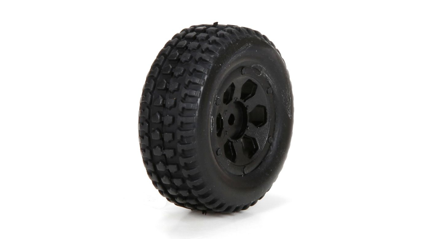 Image for Front/Rear Premount Tire (2): 1/24 4WD Torment from Horizon Hobby