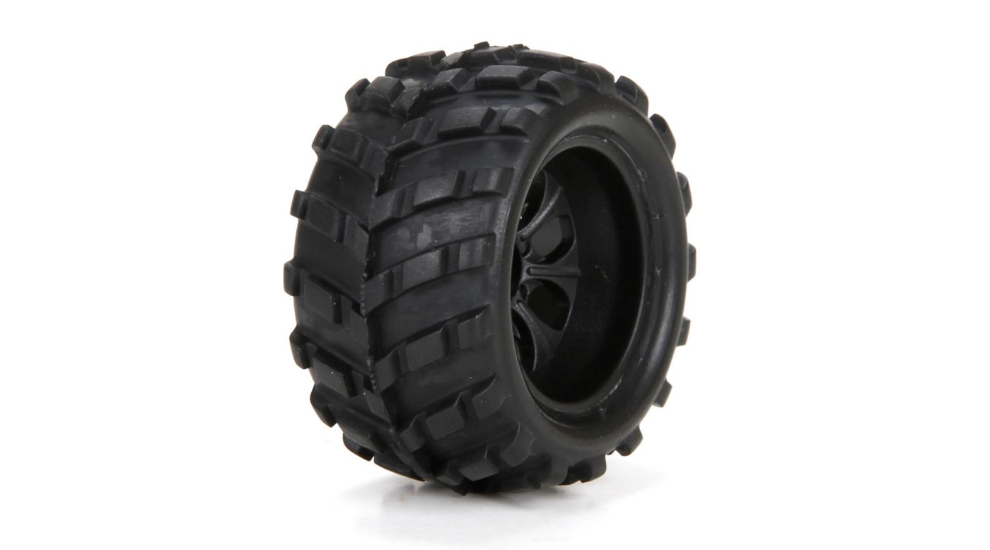 Image for Front/Rear Premount Tire (2): 1/24 4WD Ruckus from Horizon Hobby