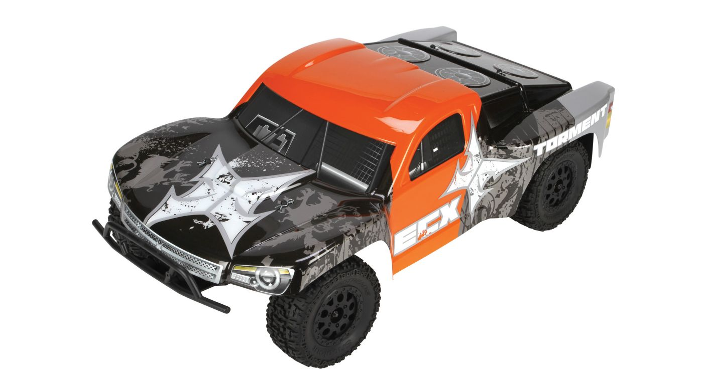 Image for Torment 1/10th Short Course Truck 2.4GHz RTR, Black/Orange from HorizonHobby