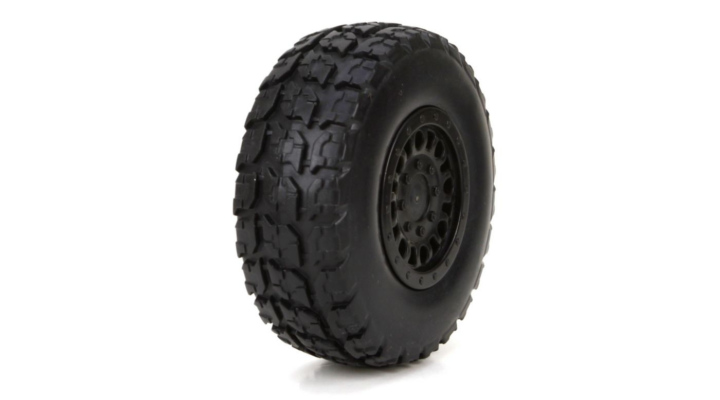 Image for Front/Rear Premount Tire: 1/18 4WD Torment (2) from HorizonHobby