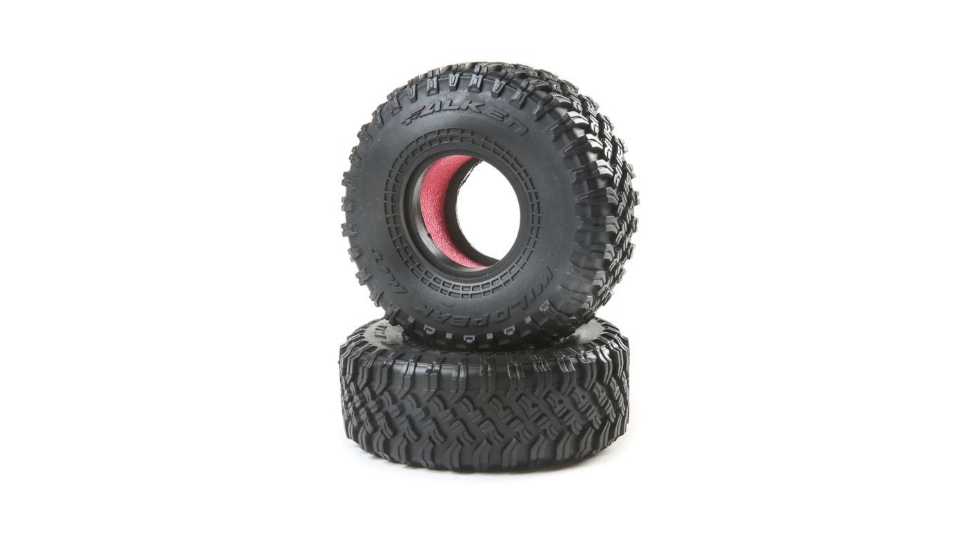 Image for 1.55 Falken Wildpeak MT Tires (2): Barrage 2.0 from HorizonHobby