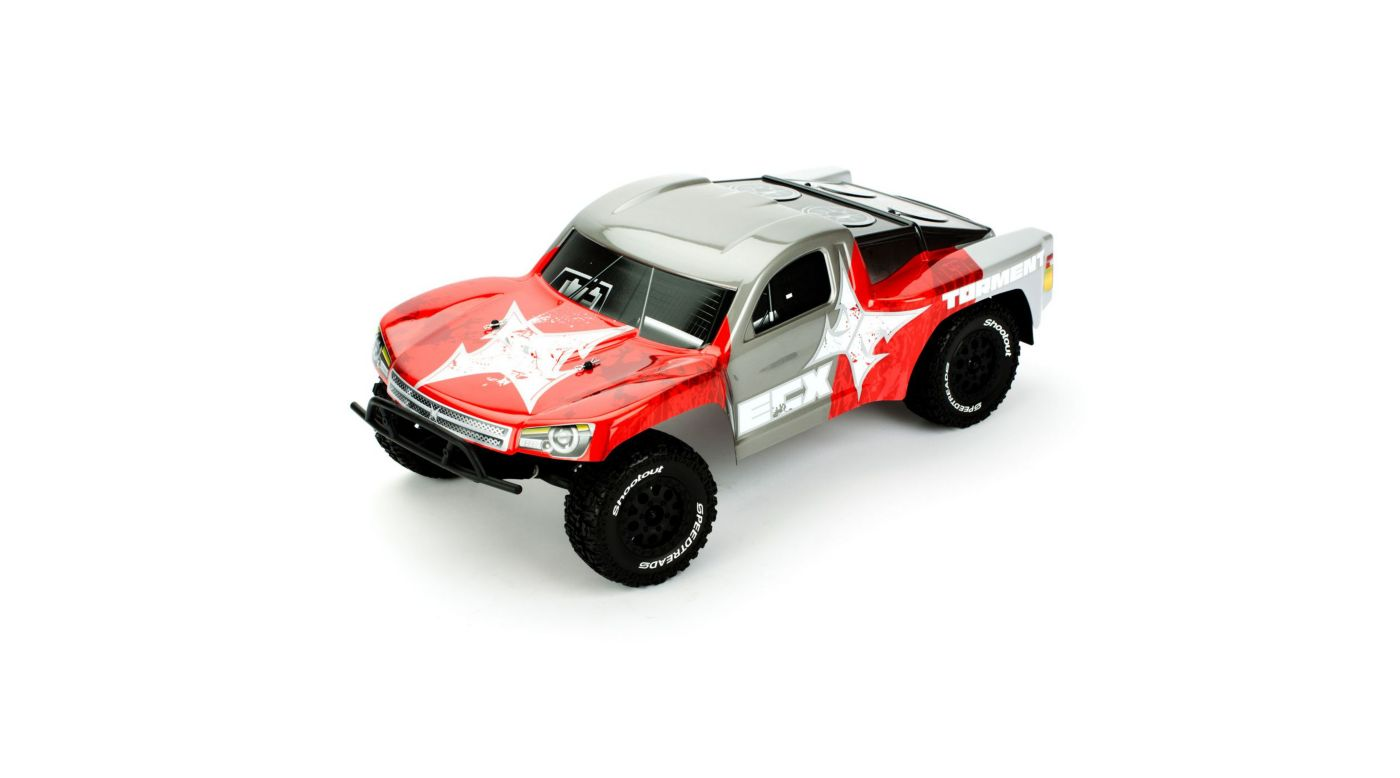 Image for Torment 1/10 Waterproof Short Course Truck RTR, Red/Gray from HorizonHobby