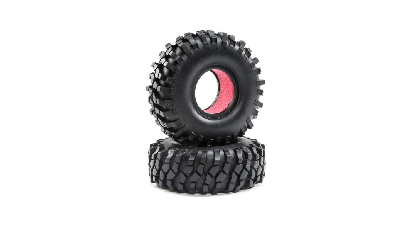 Image for FR/RR Tire with Foam: Temper G2 from HorizonHobby
