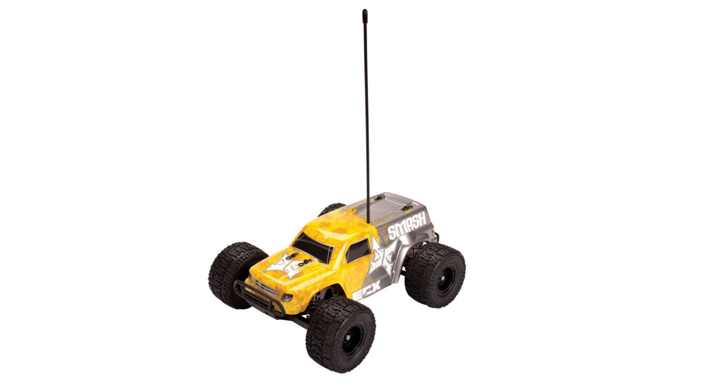 Image for 2WD 1/18 Smash Monster Truck RTR, Yellow from HorizonHobby